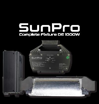 SunPro Complete Fixture 1000W HPS Double Ended
